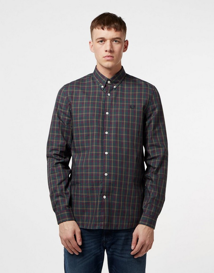 Fred Perry Checked Long Sleeve Shirt