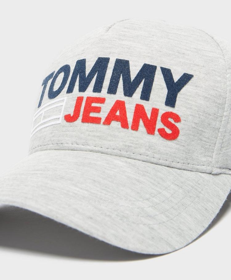 Tommy Jeans Flock Logo Cap