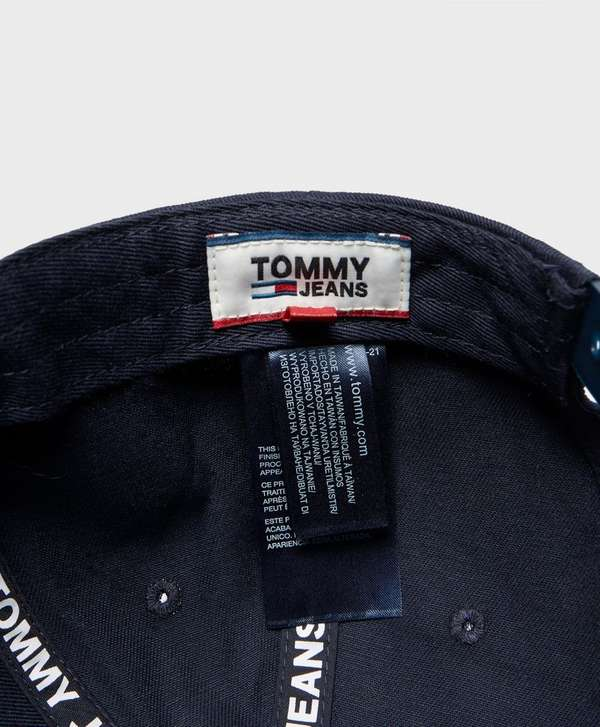 8567ec01 Tommy Jeans Flock Logo Cap - Online Exclusive | scotts Menswear