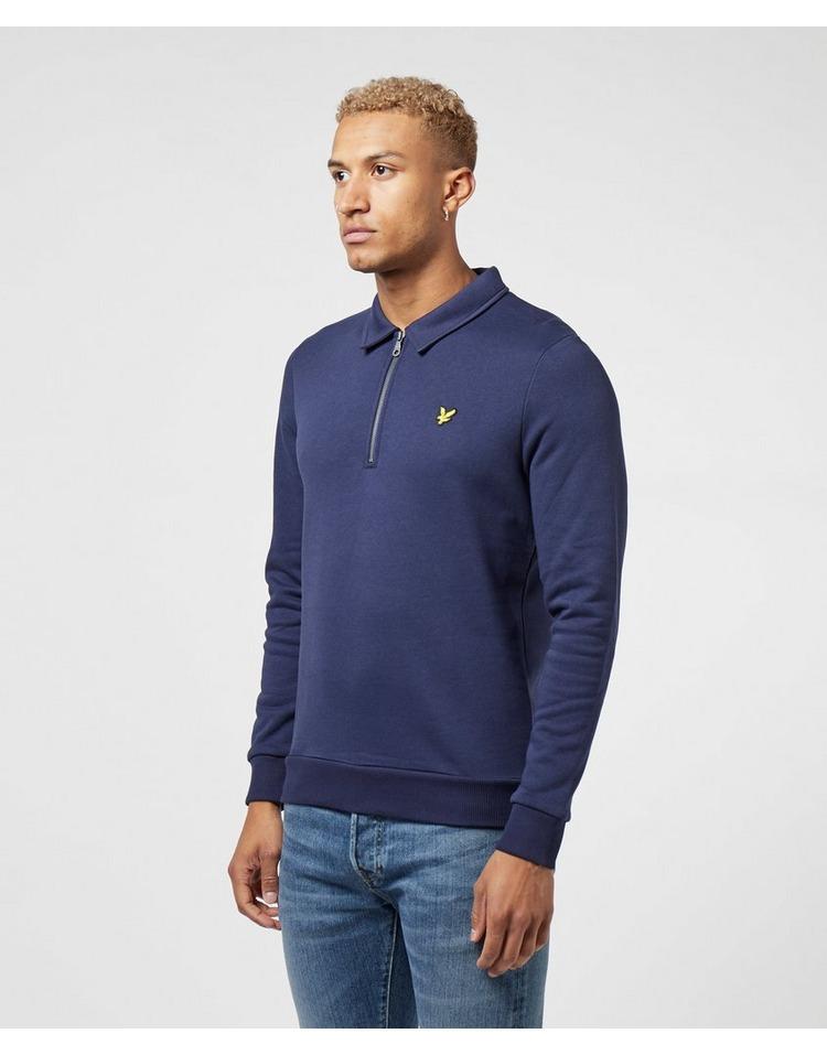 Lyle & Scott Quarter Zip Collar Sweatshirt