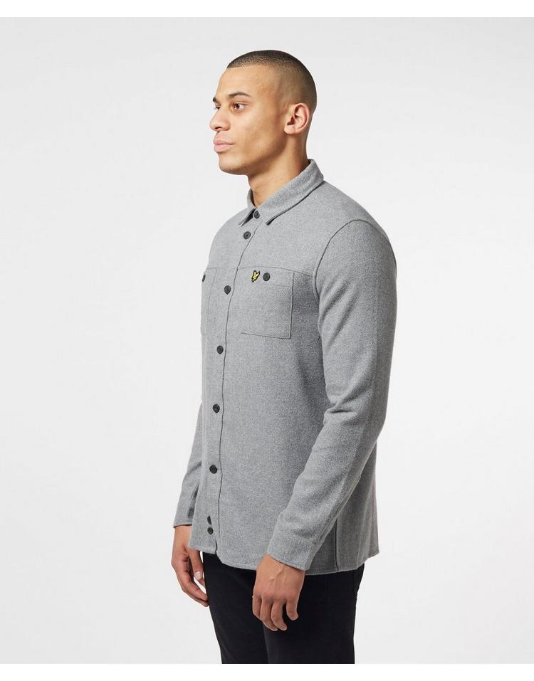 Lyle & Scott Brushed Long Sleeve Overshirt
