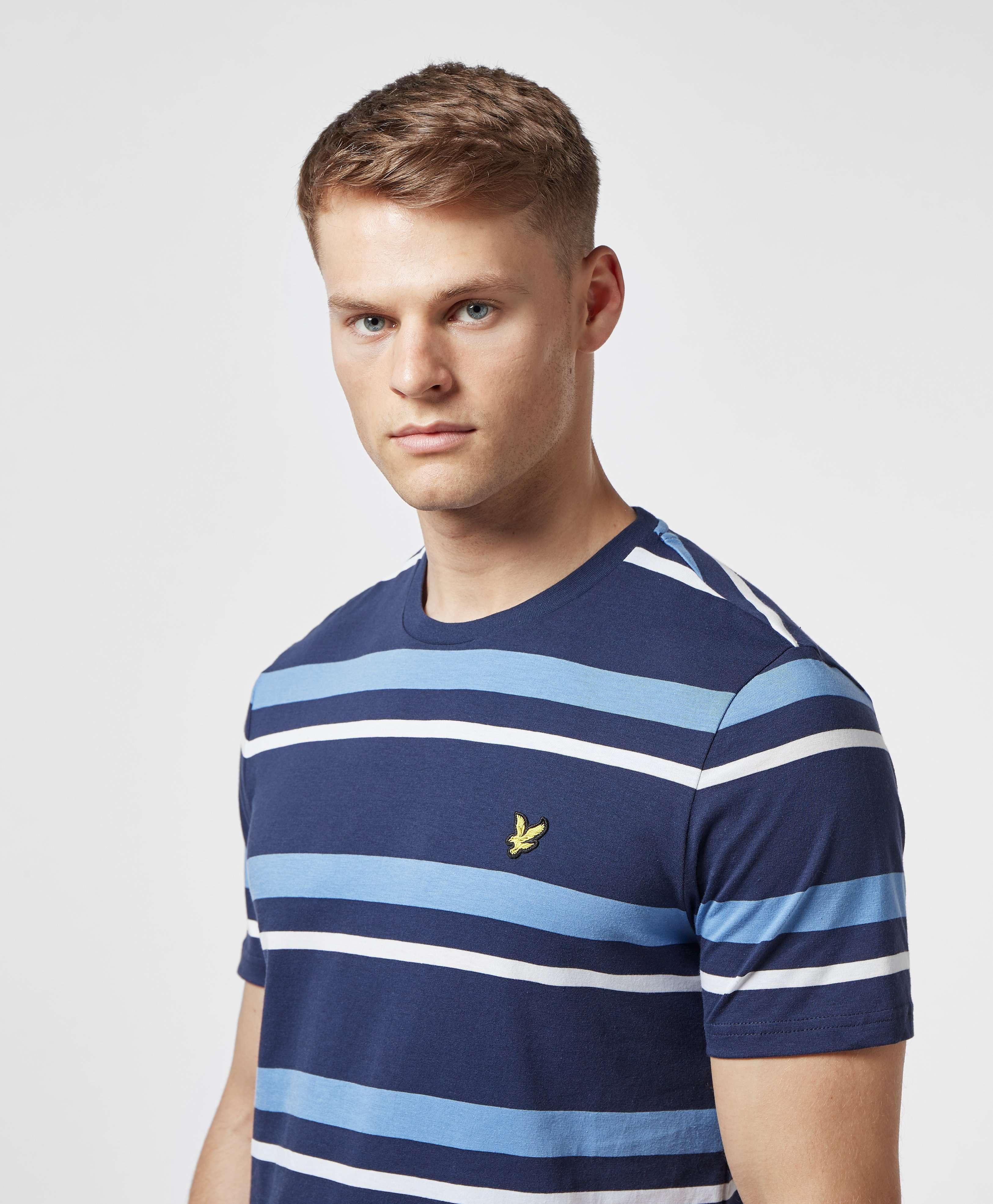 Lyle & Scott Stripe Short Sleeve T-Shirt - Online Exclusive