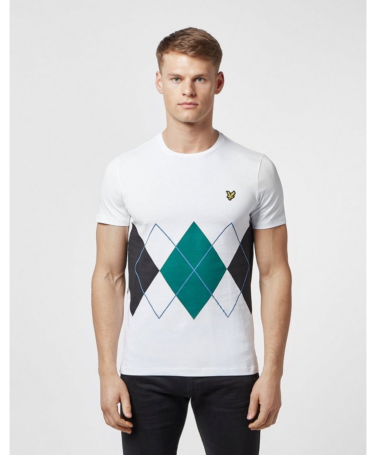 Lyle & Scott Argyle Short Sleeve T-Shirt