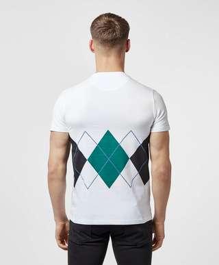 Lyle & Scott Argyle Short Sleeve T-Shirt