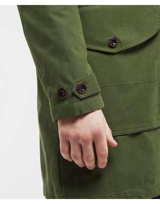 Pretty Green Faux Fur Trim Hooded Parka Jacket