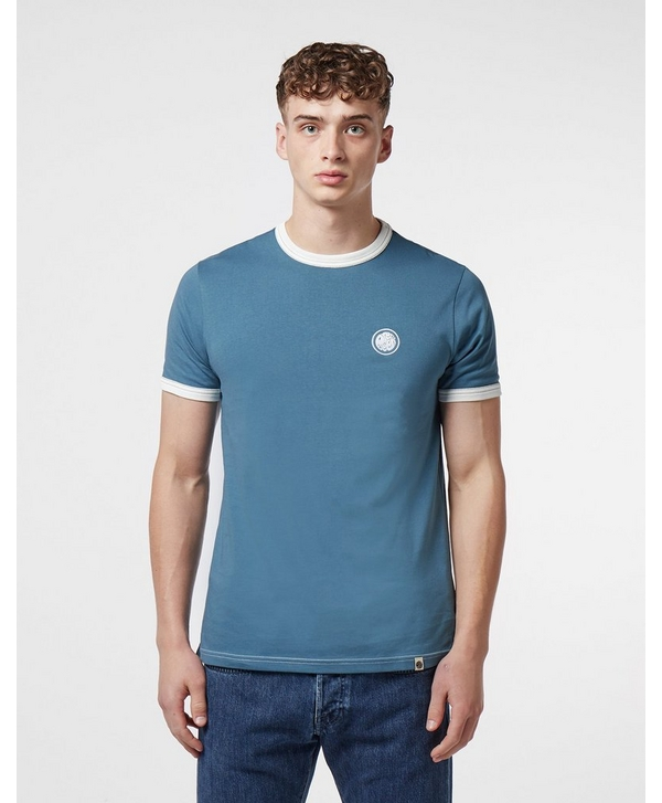 cc2c34fa565e Pretty Green Milford Short Sleeve Ringer T-Shirt | scotts Menswear
