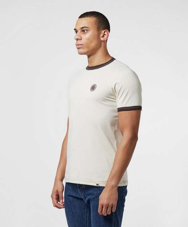 Pretty Green Milford Short Sleeve Ringer T-Shirt