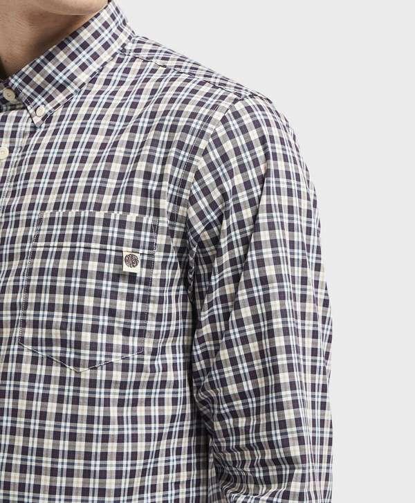 Pretty Green Huckberry Long Sleeve Check Shirt
