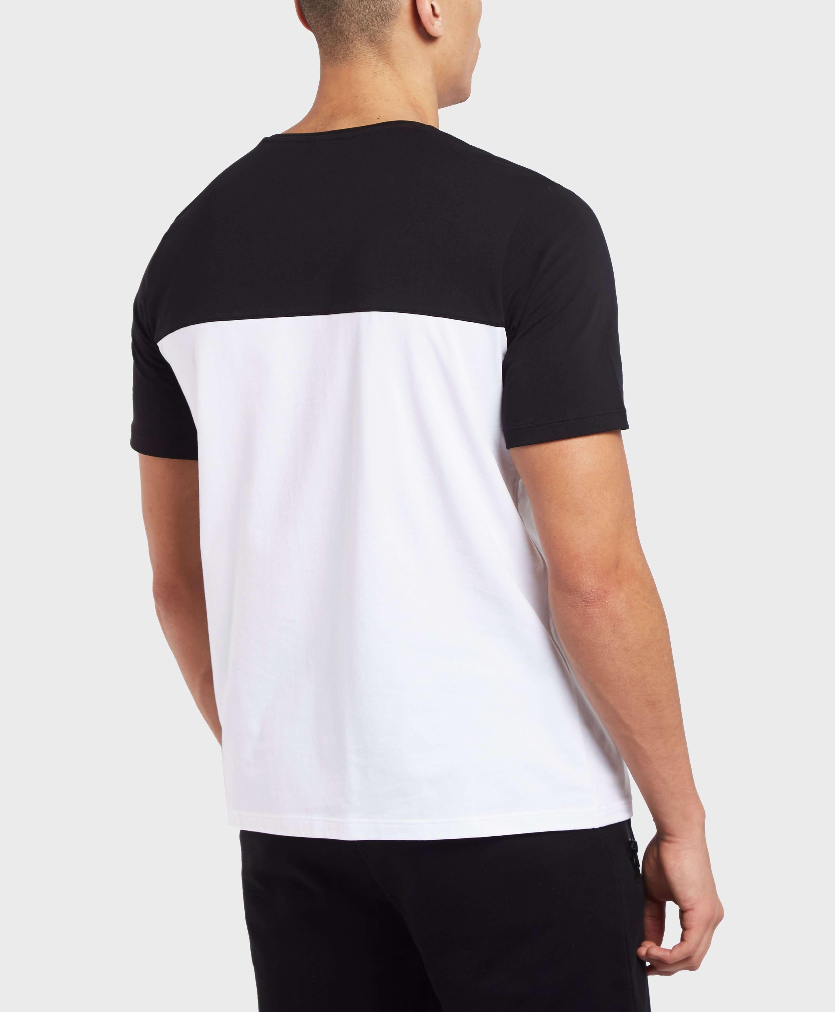BOSS Colour Block Short Sleeve T-Shirt