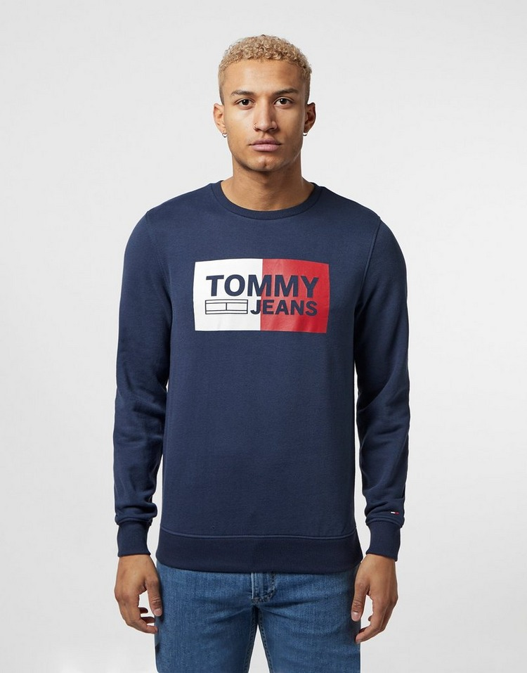 Tommy Jeans Split Logo Sweatshirt