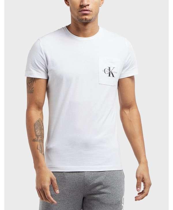 Calvin Klein Monogram Pocket Short Sleeve T-Shirt