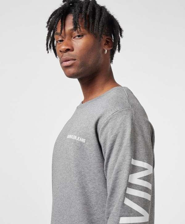 Calvin Klein Institutional Back Print Sweatshirt