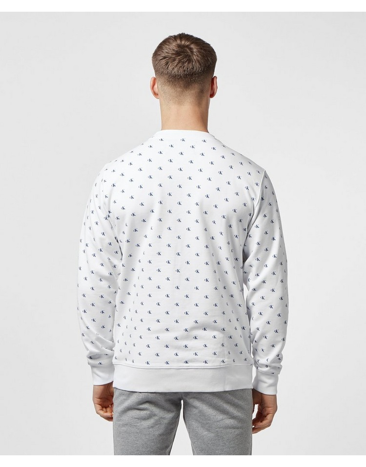 Calvin Klein Monogram Print Sweatshirt