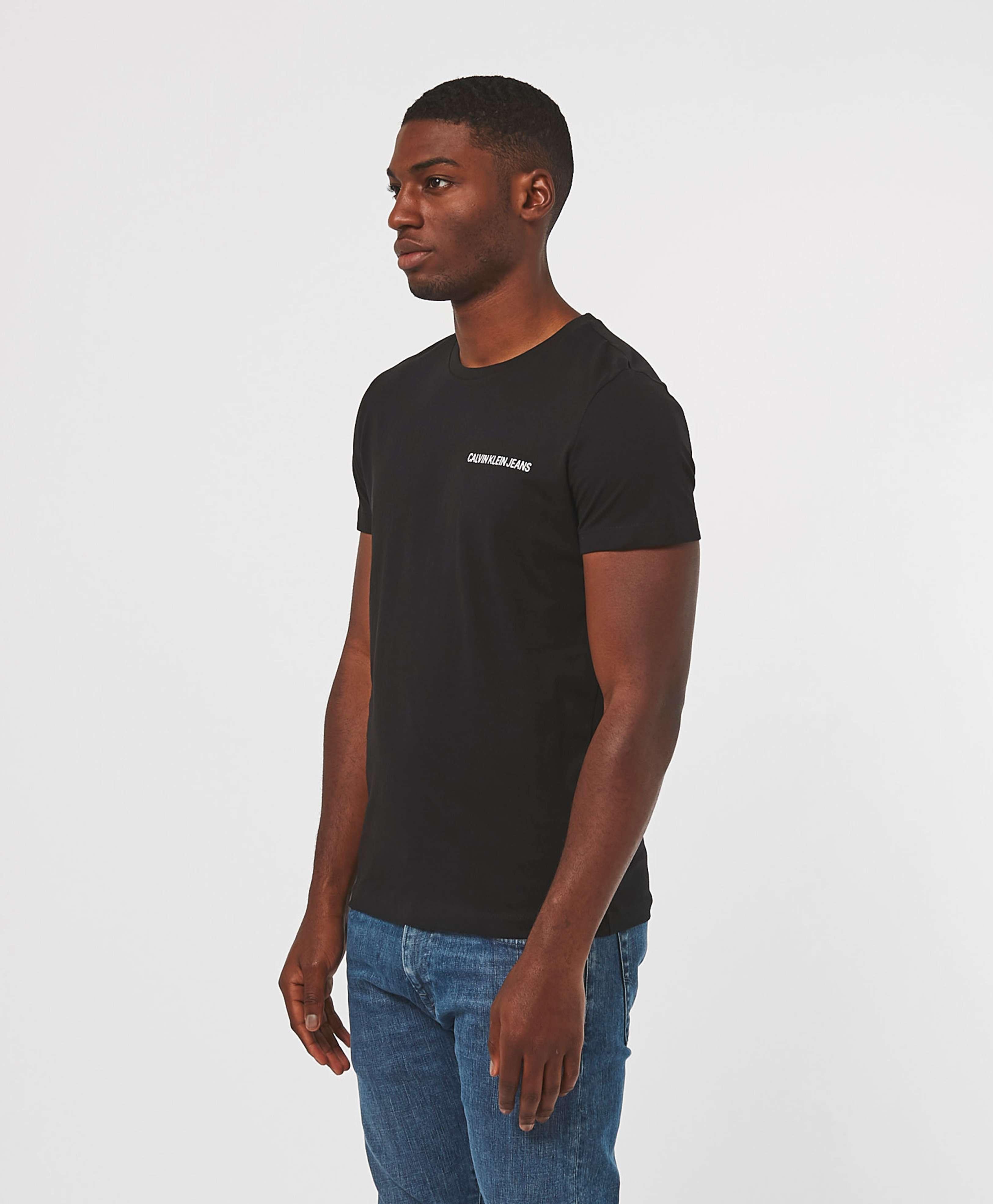 Calvin Klein Small Institutional Logo Short Sleeve T-Shirt