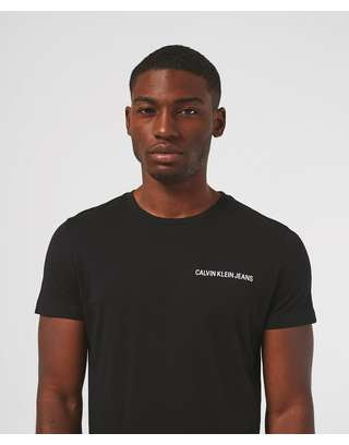 Calvin Klein Small Institutional Logo Short Sleeve T-Shirt