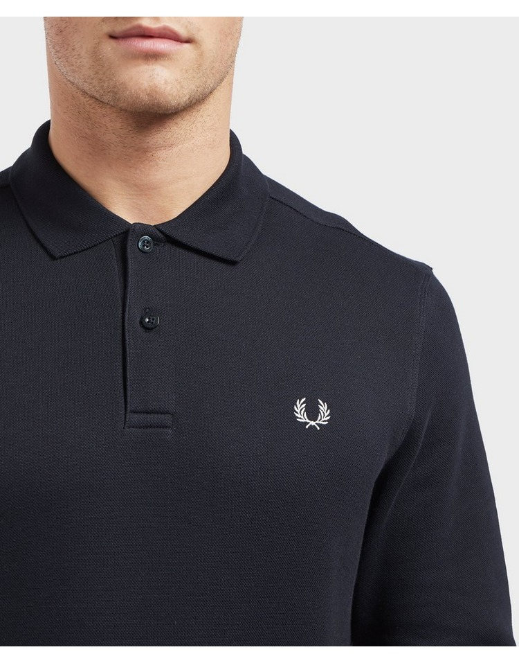 Fred Perry Heavy Pique Long Sleeve Polo Shirt