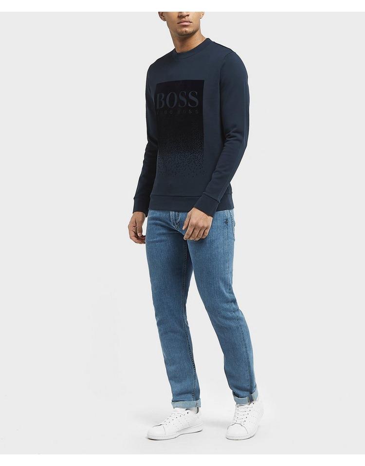 BOSS Wolflike Flock Sweatshirt
