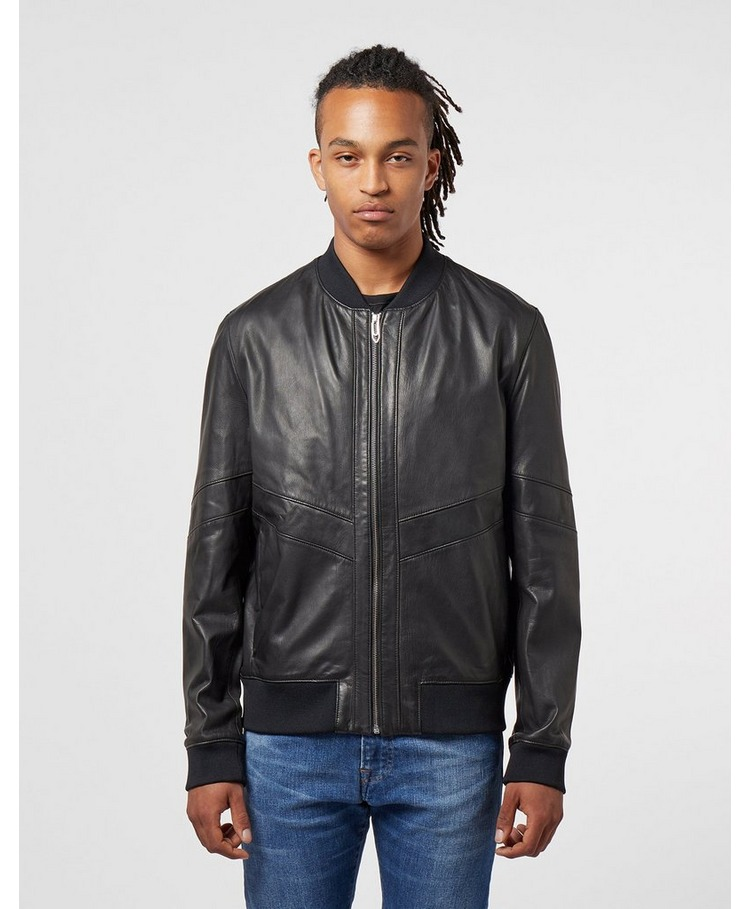 HUGO Lachlan Leather Jacket