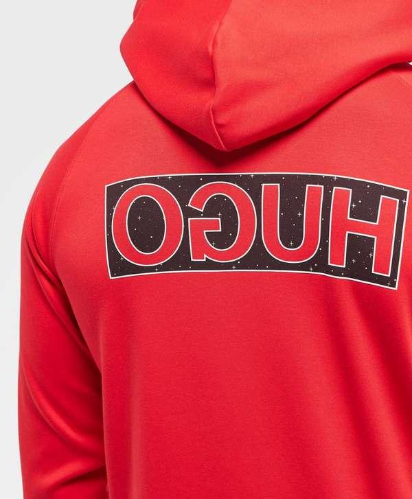 HUGO Darti Back Logo Overhead Hoodie - Online Exclusive