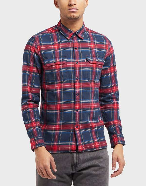 Levis Jackson Check Long Sleeve Shirt - Online Exclusive