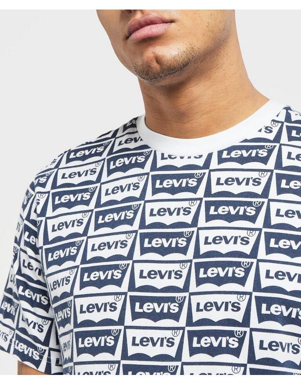 Levis Housemark Print Short Sleeve T-Shirt