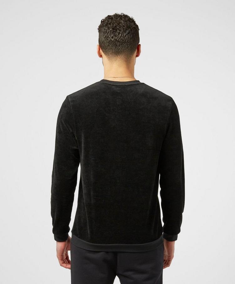 BOSS Velour Crew Neck Sweatshirt