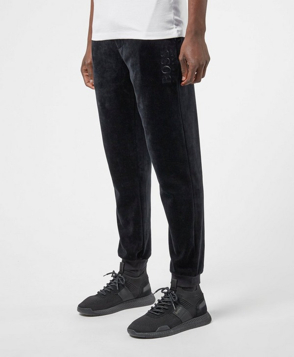 BOSS Velour Cuffed Track Pants