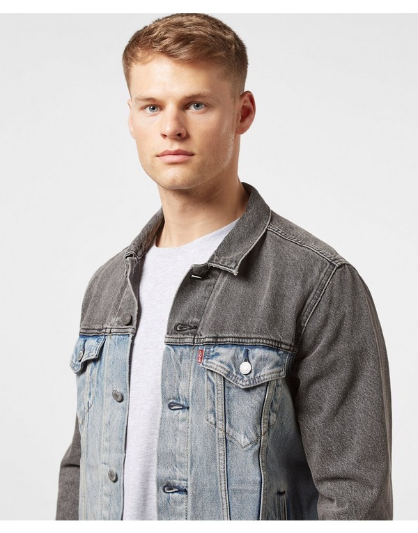 Levis Two Tone Denim Trucker Jacket