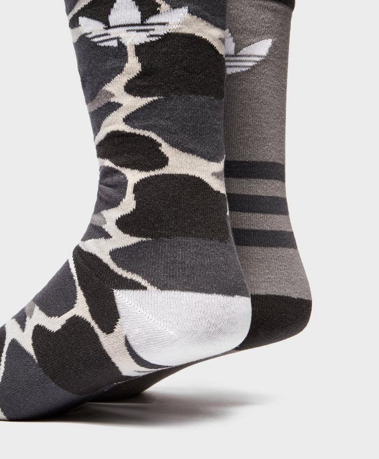 adidas Originals 2-Pack Camo Socks