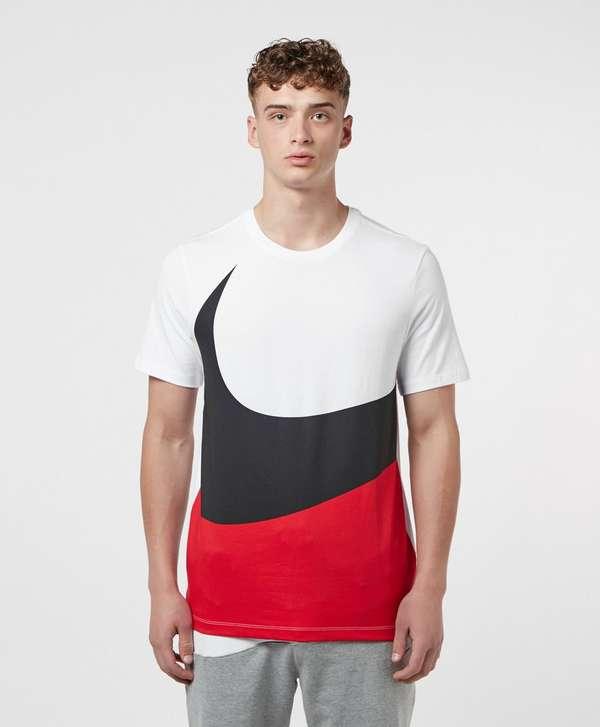 Nike Large Swoosh Short Sleeve T-Shirt