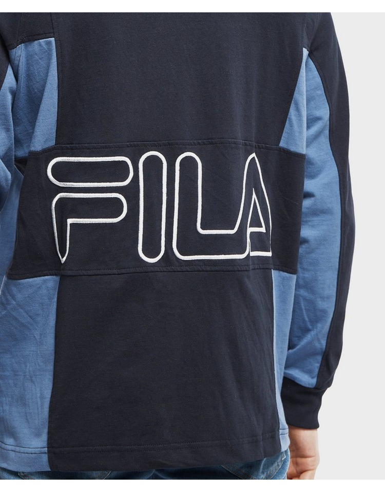 Fila Furchetta Long Sleeve Rugby Polo Shirt