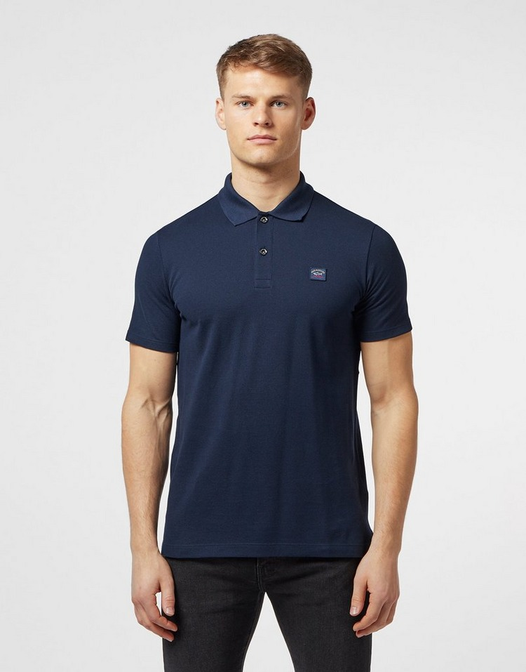Paul and Shark Short Sleeve Pique Polo Shirt