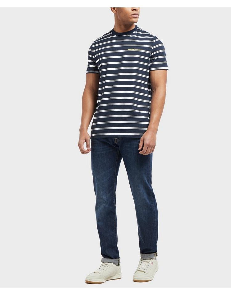 GUESS Stripe Short Sleeve T-Shirt