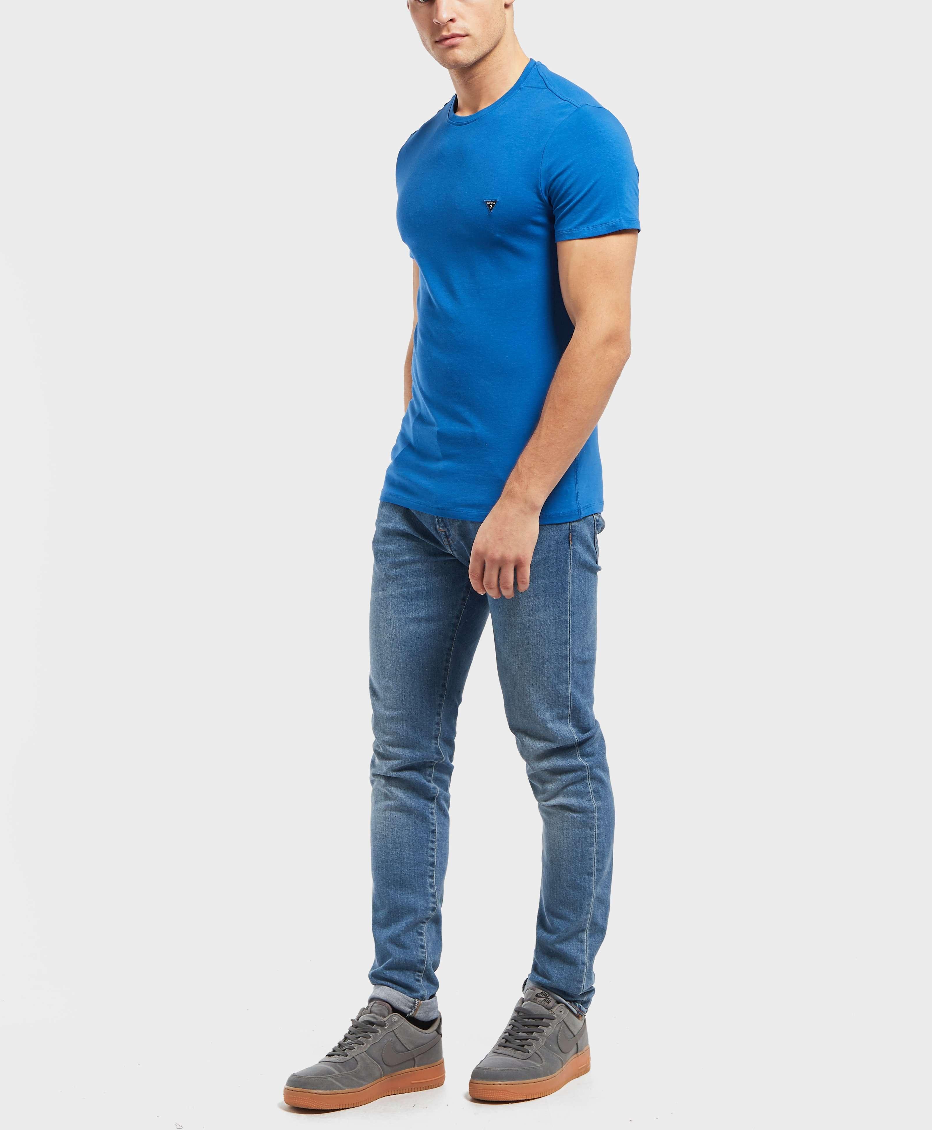Guess Mini Logo Short Sleeve T-Shirt - Online Exclusive