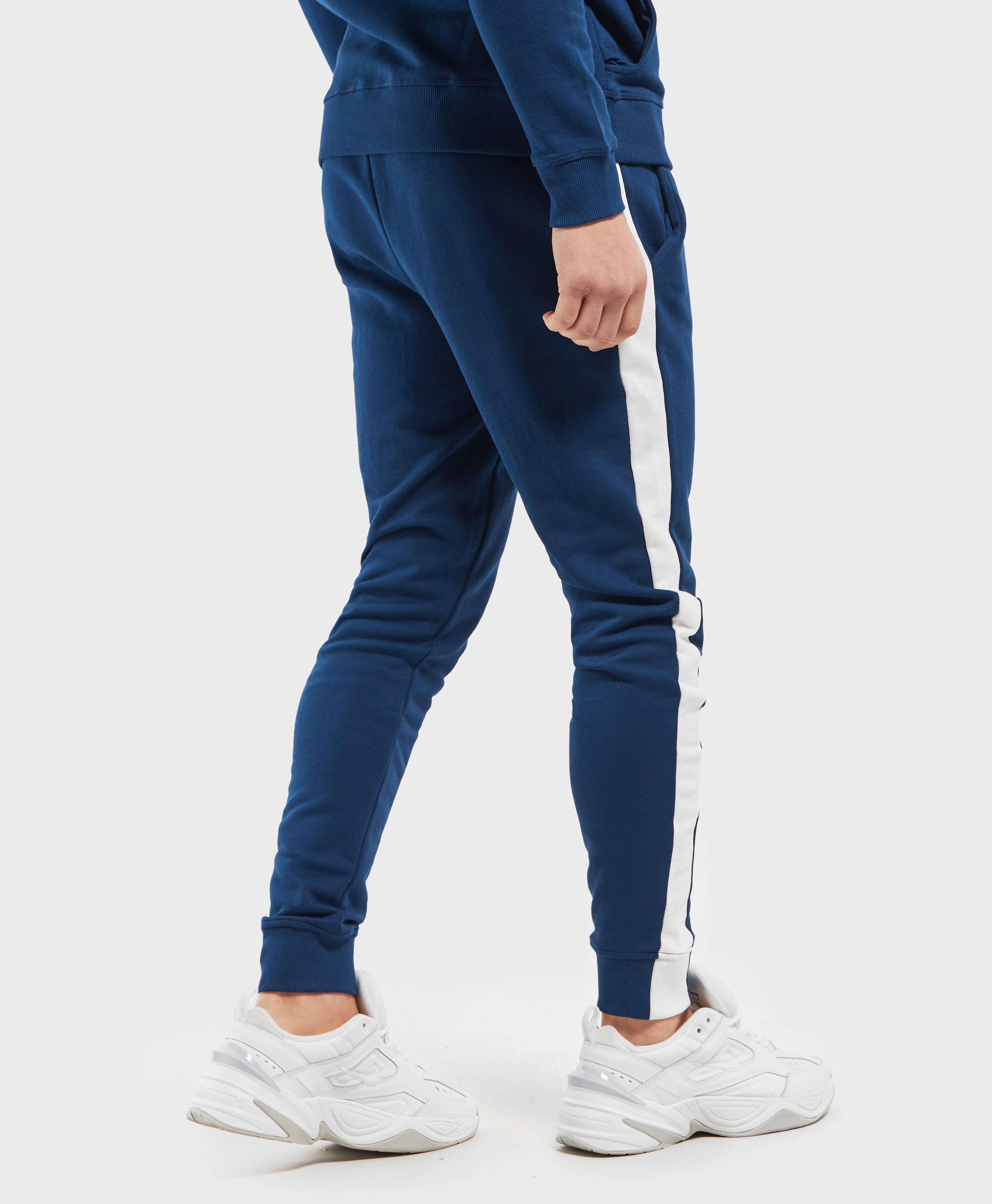 Guess Side Logo Cuffed Fleece Pants - Online Exclusive