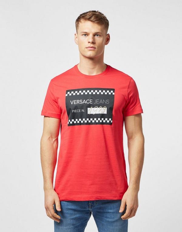 Versace Jeans Piece Number Short Sleeve T-Shirt