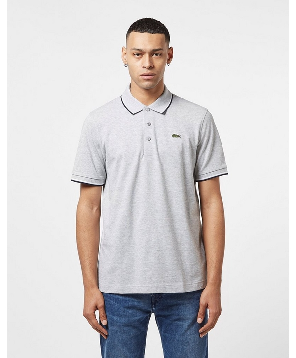 901d6028c Lacoste Tipped Short Sleeve Polo Shirt