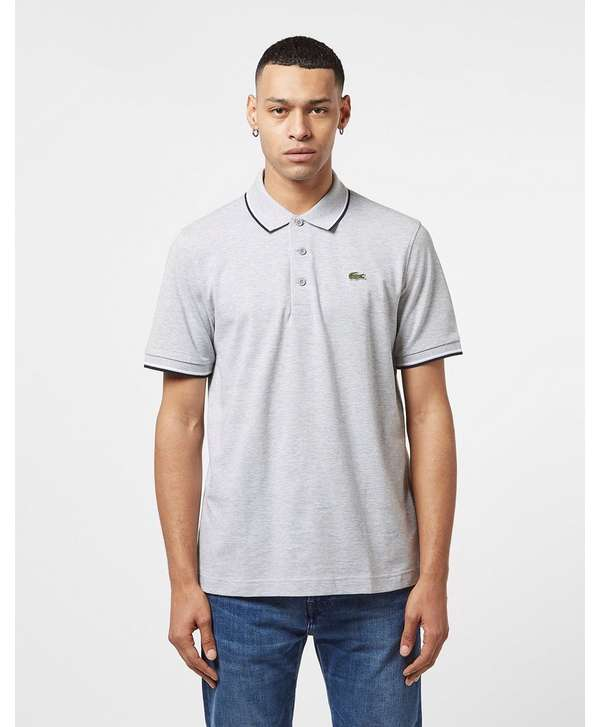 Lacoste Tipped Short Sleeve Polo Shirt