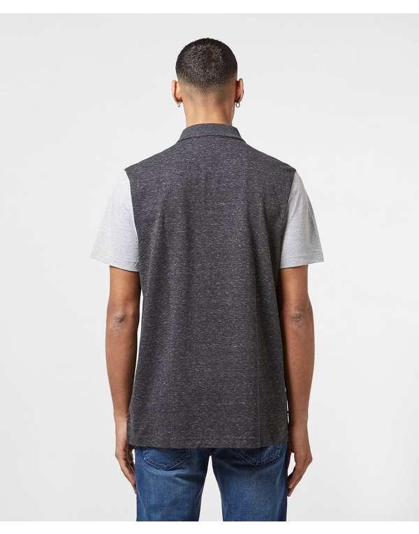 Lacoste Retro Panel Short Sleeve Polo Shirt