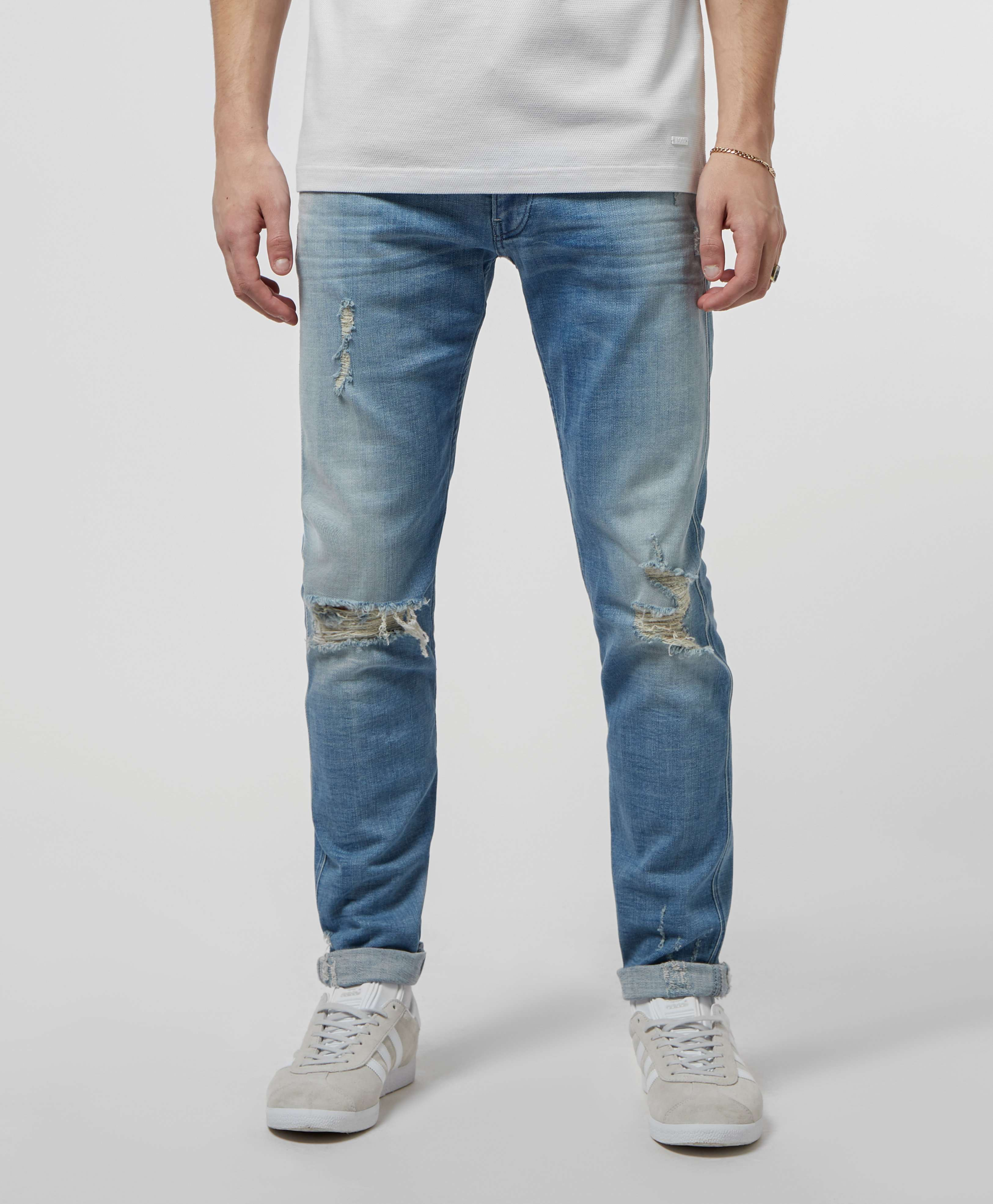 Replay Anbass Slim Ripped Jeans