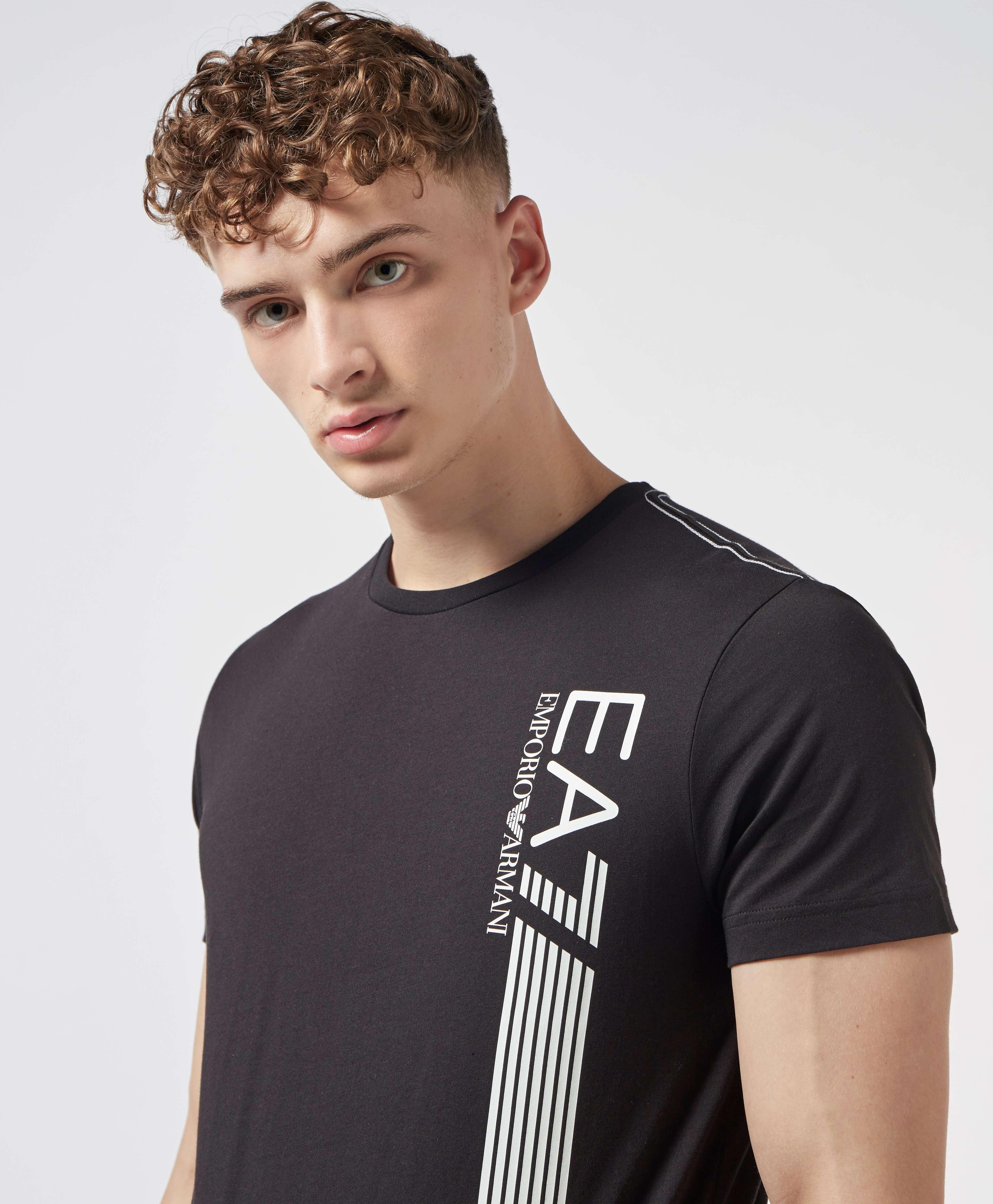 Emporio Armani EA7 7 Lines Short Sleeve T-Shirt