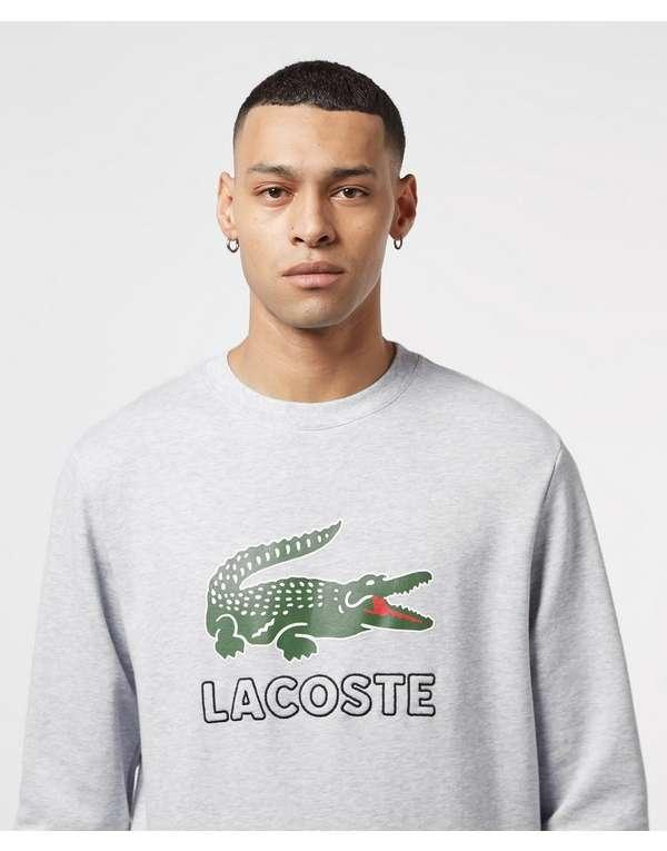 Lacoste Large Logo Vintage Crew Sweatshirt