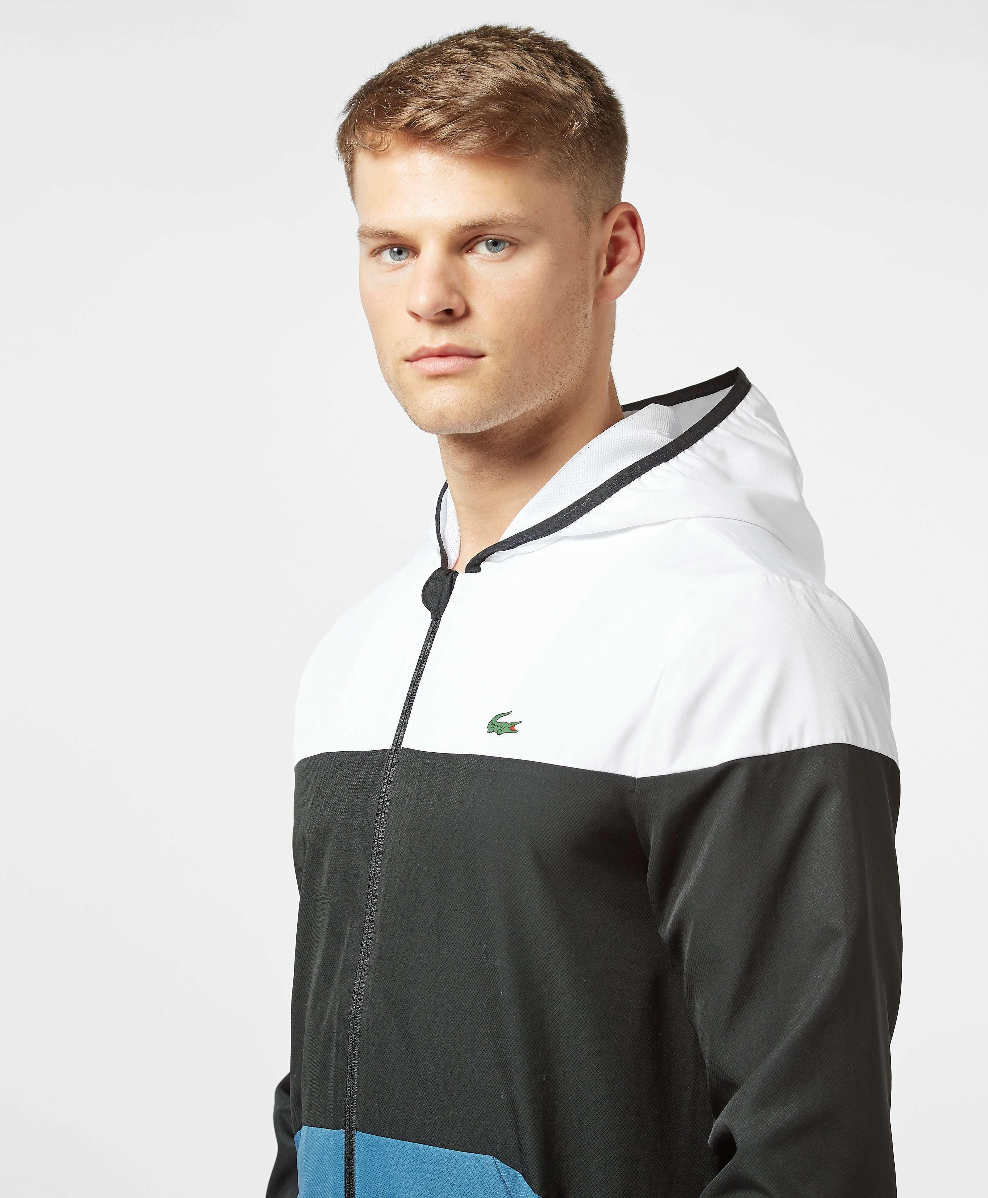 Lacoste Sport Colour Block Windbreaker Jacket