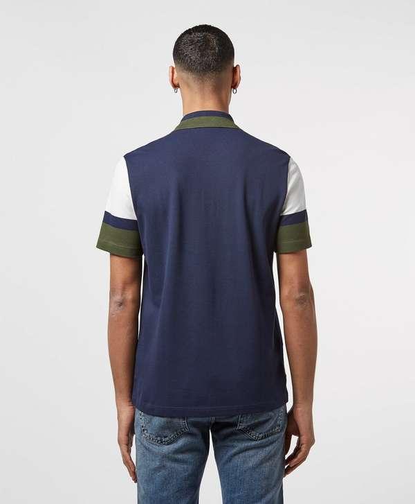 Lacoste Short Sleeve Block Polo Shirt