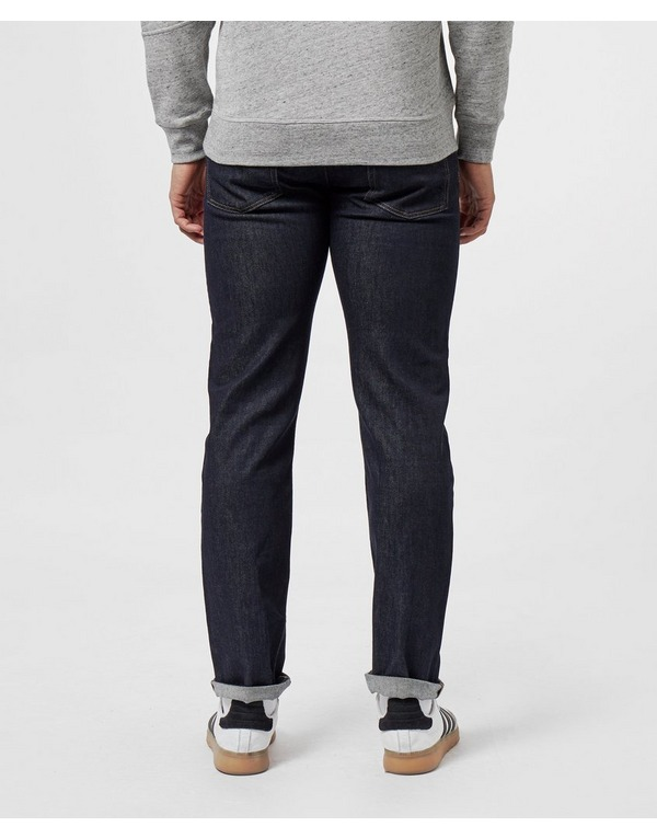 Lacoste Slim Tapered Croc Jeans