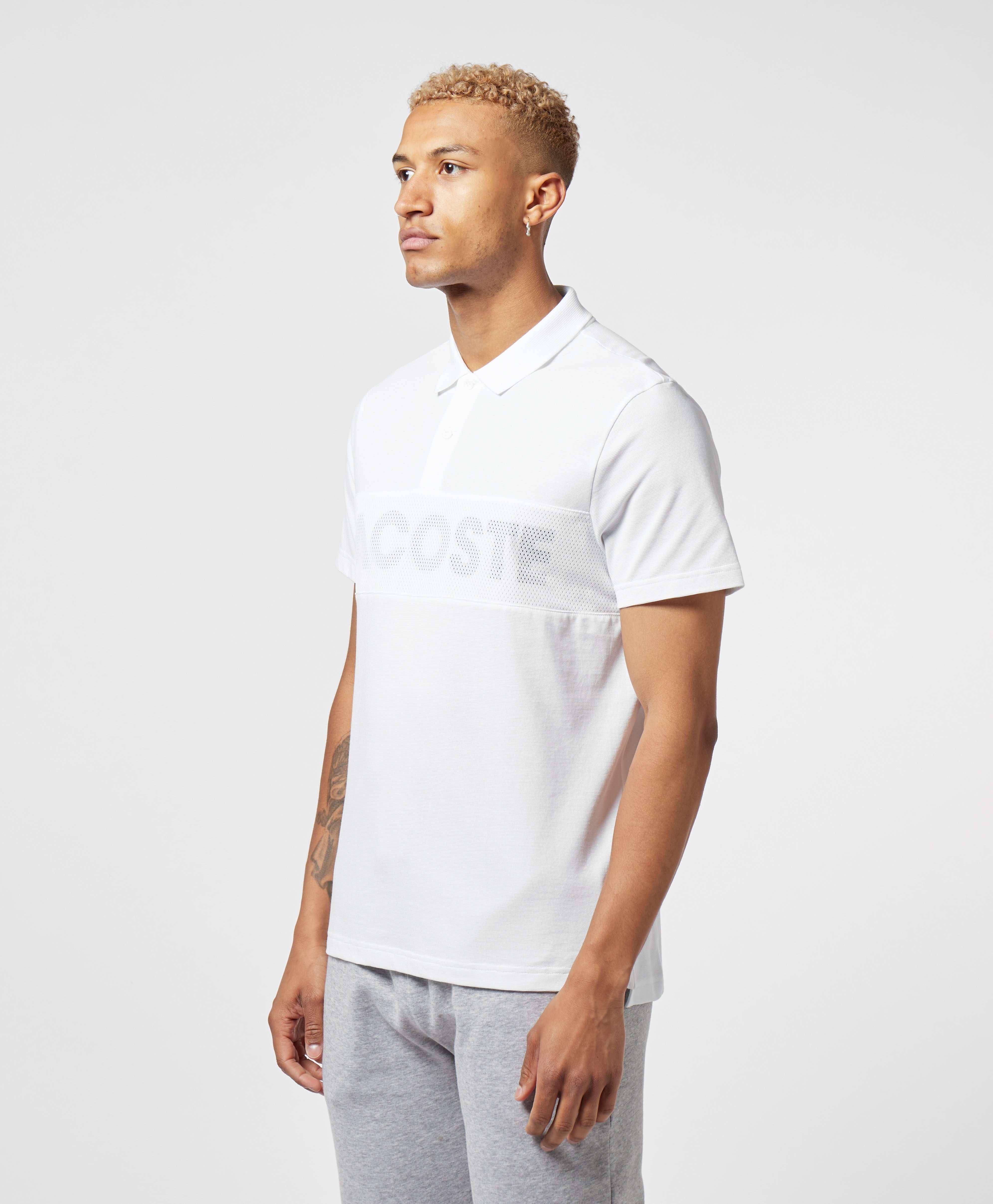 Lacoste Mesh Logo Short Sleeve Polo Shirt - Exclusive