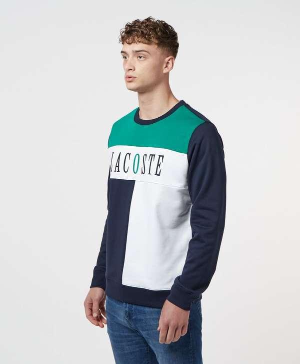 Lacoste Roland Garros Embroidered Logo Sweatshirt