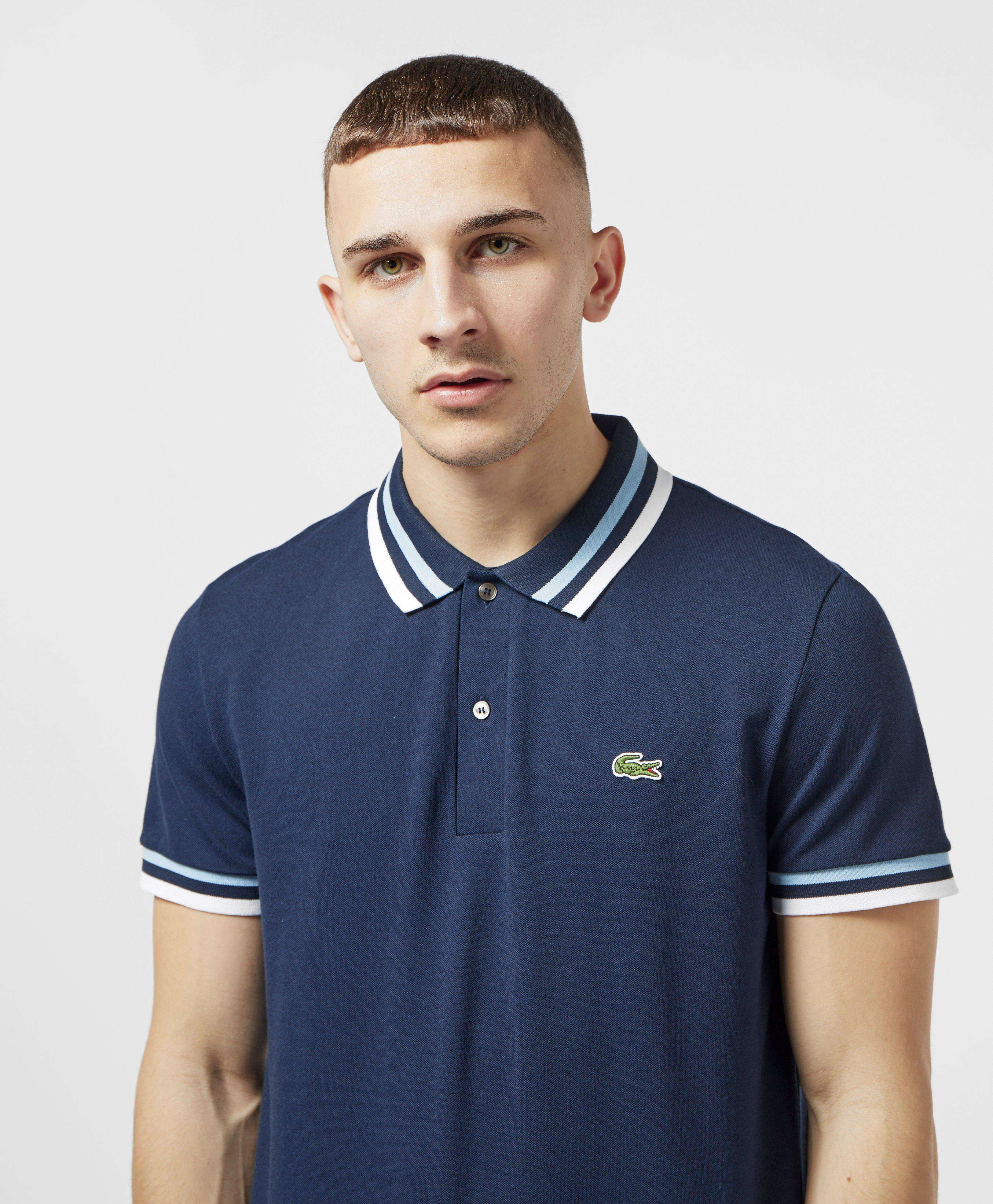 Lacoste Made In France Short Sleeve Tipped Polo Shirt