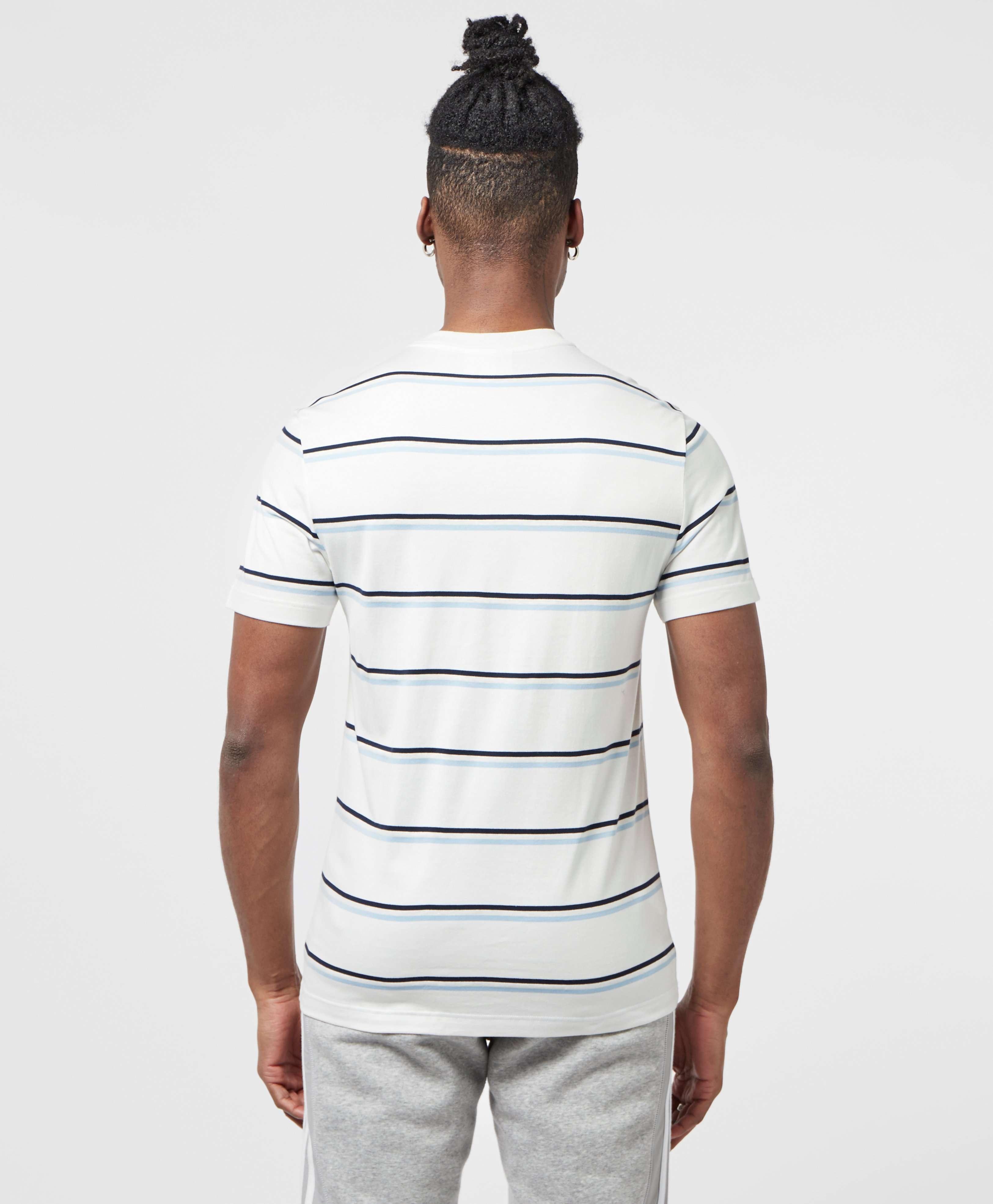 Lacoste Stripe Short Sleeve T-Shirt
