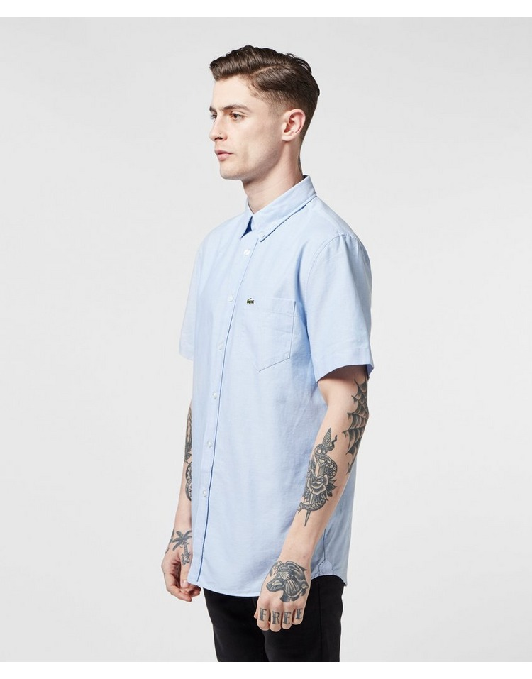 Lacoste Short Sleeve Oxford Shirt